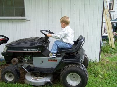 Tony Todd Mtd Yard Machines Riding Lawn Mowers