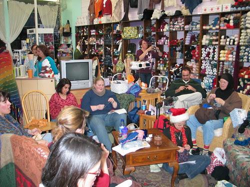Carols and Knitting