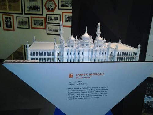 Макет на Masjid Jamek