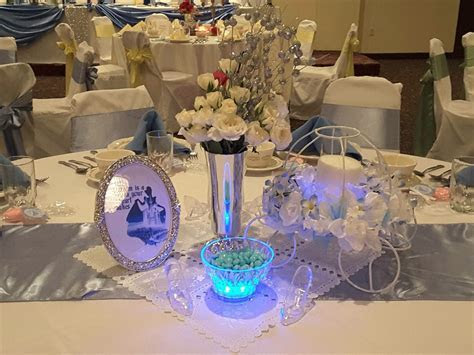 Cinderella centerpiece   Wedding stuff   Pinterest