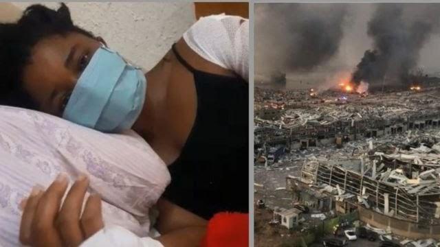 Nkiru Obasi: Survivor Of Lebanon Explosion Calls For Help From Nigeria