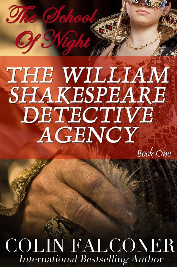 02_The William Shakespeare Detective Agency-The School of Night_Cover