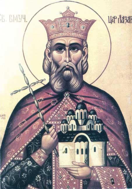 IMG ST.  LAZAR of Serbia