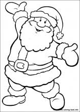 Boyama Oyunlar Noel Baba
