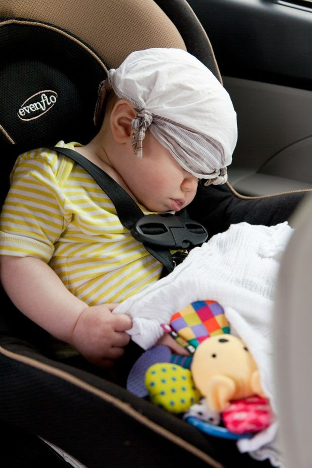 Traveling in a Car with Children. How to Do It Safe