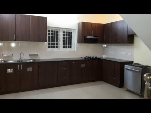 Teak Walnut Colour Finish for Ramya Modular Kitchen & Interiors'   Mr. V...