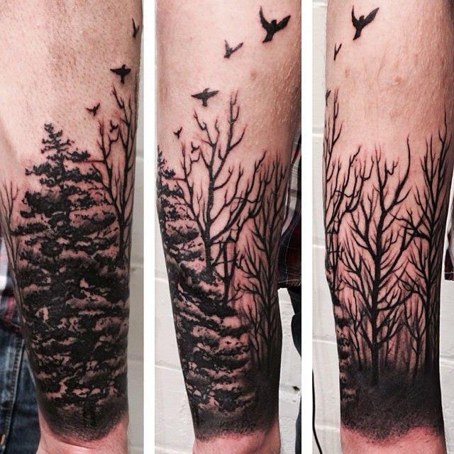 20 Amazing Forearm Tree Tattoo Design And Ideas