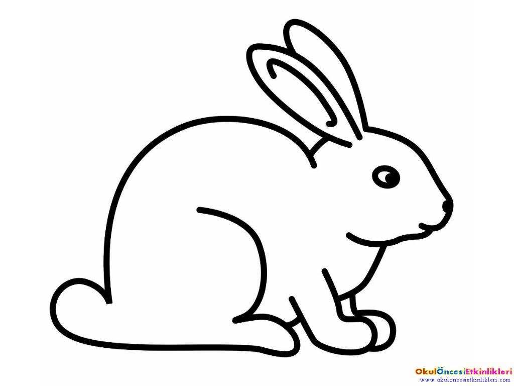 Tavşan Maskesi Boyama