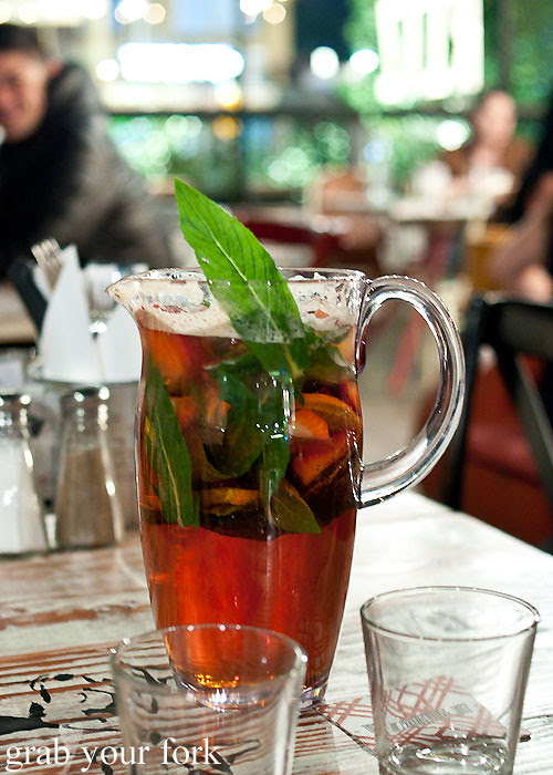 pimms cocktail jug at marrickville ritz hotel
