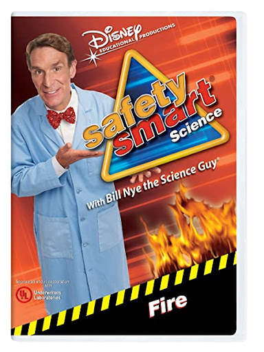 fire safety video Bill Nye the Science Guy