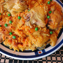Cuban Arroz Con Pollo - Chicken with Rice