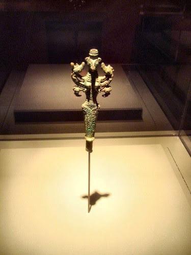 Bronze idol