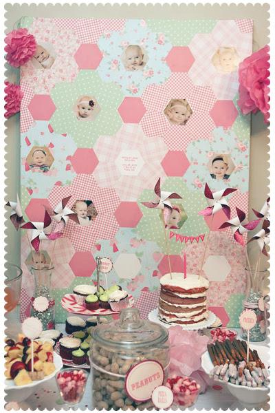 Sweet P's Paper Quilt
