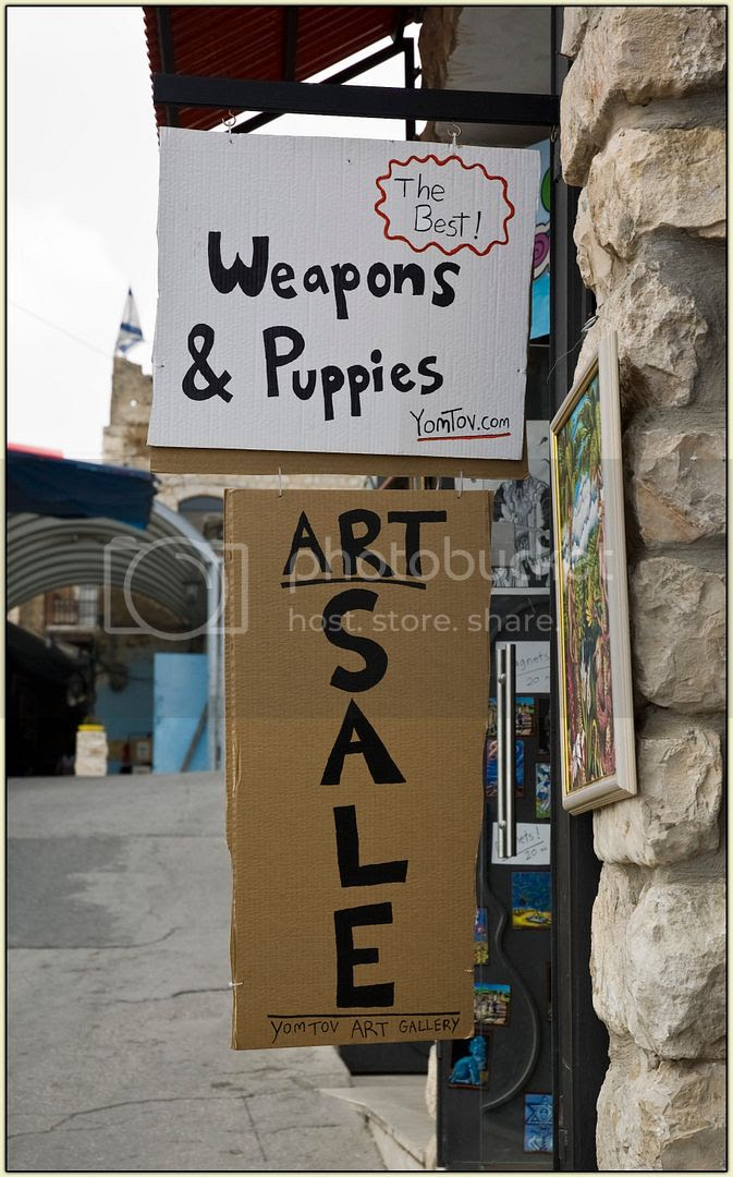 Weapons and Puppies