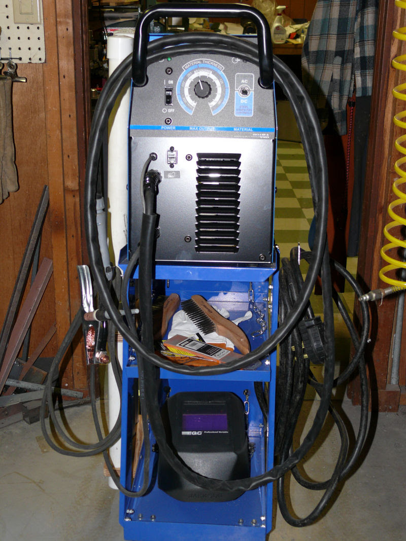 Miller Diversion 165 Tig Welder and Cart I put together