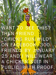 Want to see me in a chicken suit?