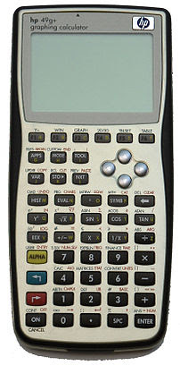 HP 49g+ graphing calculator