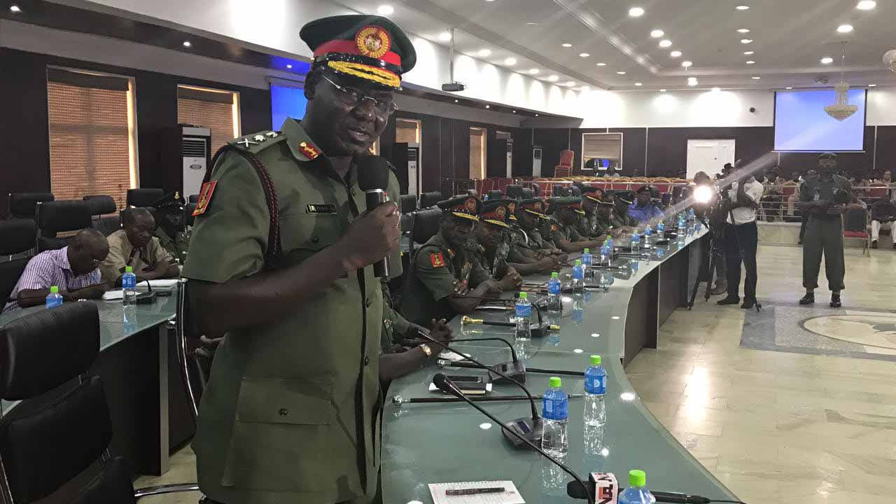 Biafra: Why I cannot produce Kanu – Buratai tells court