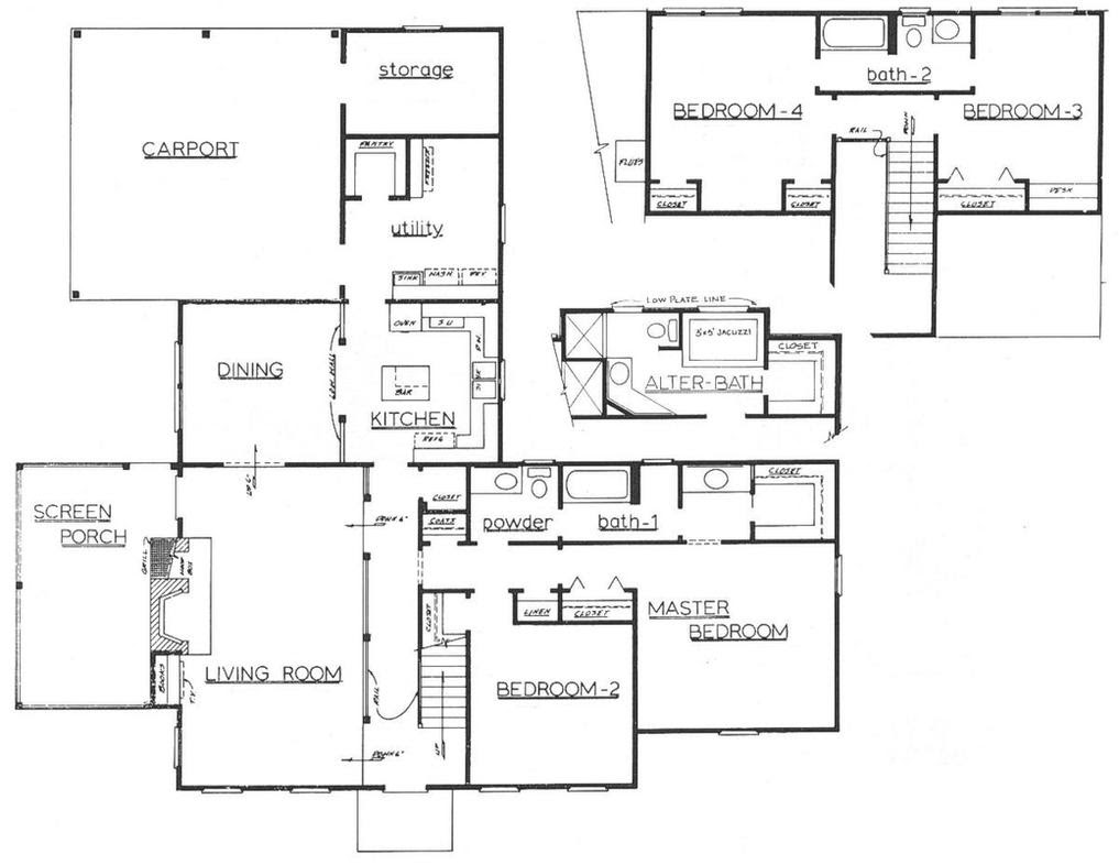 Architectural Floor Plan by sneakychileno on DeviantArt