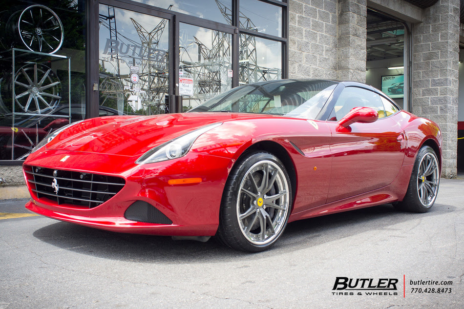 Ferrari California With 20in Hre S104 Wheels Exclusively From Butler Tires And Wheels In Atlanta