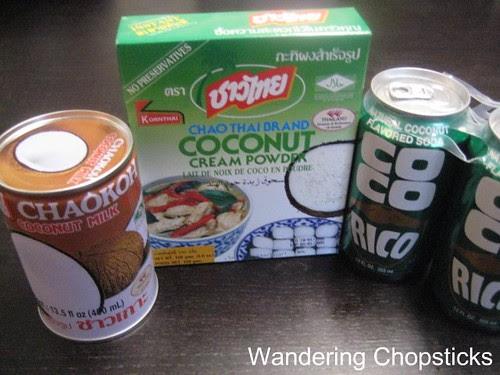 Coconut Milk, Coconut Powder, and Coco Rico 1
