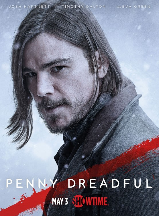 Josh Hartnett Penny Dreadful poster - click to see more