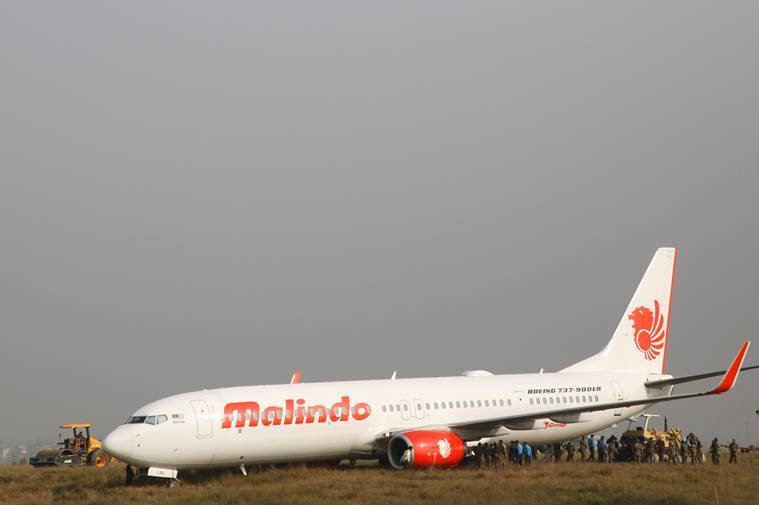 Malaysian plane skids off runway in Nepal; close shave for 1   39 on board