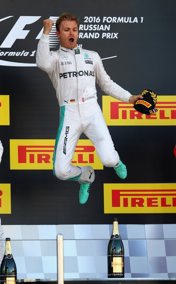 Nico Rosberg no GP da Rússia de Fórmula 1 2016 (Foto: Getty Images)