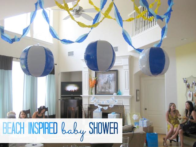 Beach Inspired Baby Shower Craft