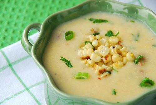 corn chowder single bowl