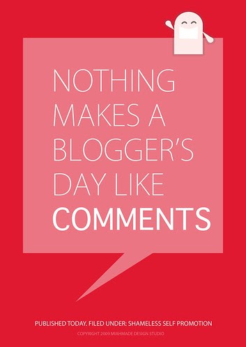 Comments by miss miah, on Flickr