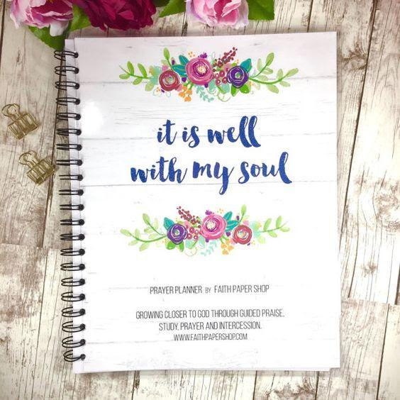Prayer Planner, Prayer journal, Christian gifts, Bible study ...