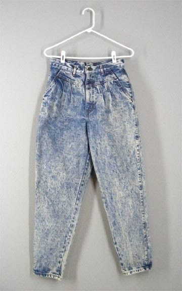 bad acid wash jeans era tahun 80'an