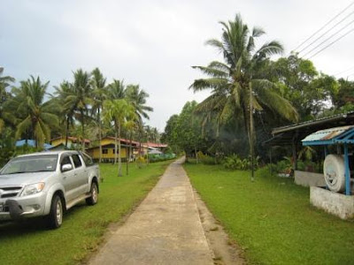 village at the northern coastal area of Sarawak