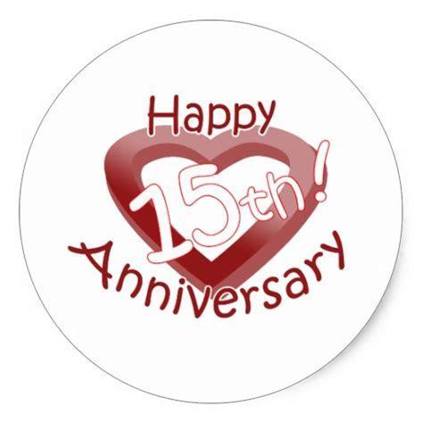 15th Wedding Anniversary Clipart