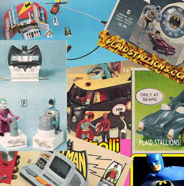 the top ten coolest batman toys of the 1970s
