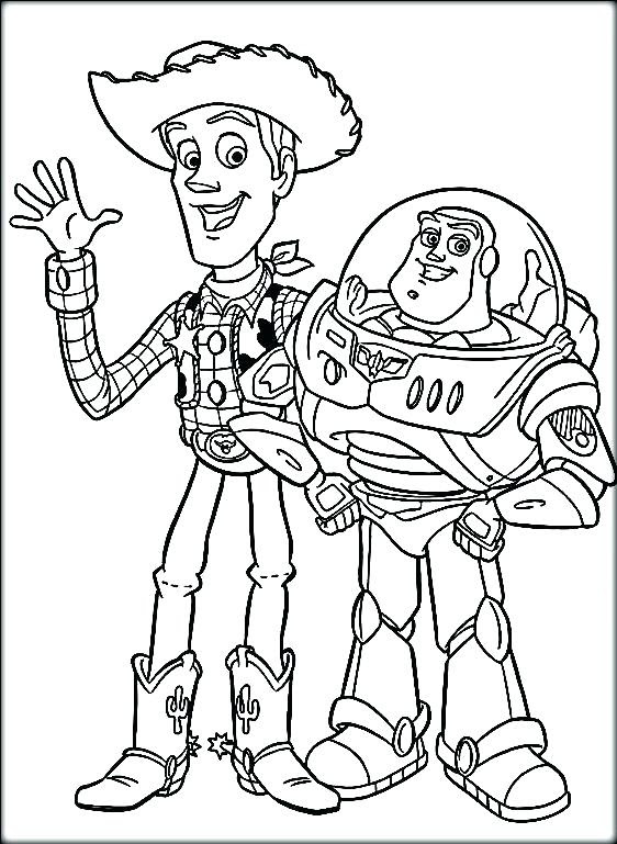 Buzz And Woody Drawing at GetDrawings | Free download