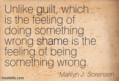 Quotes About Guilt And Shame 94 Quotes