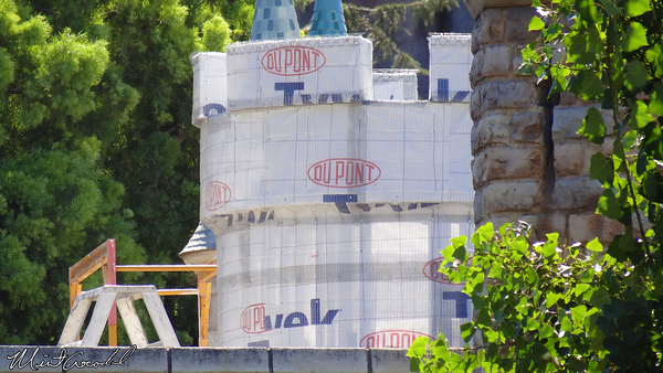 Disneyland Resort, Disneyland, Castle, Safe Rail
