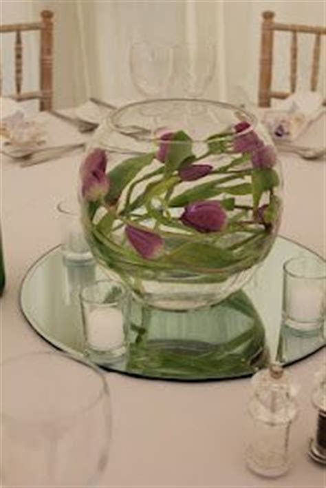 1000  images about Centerpieces: Fishbowl Flowers on
