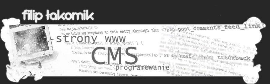 O programowaniu stron www