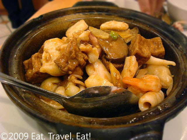 Seafood Tofu Pot