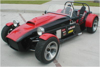 Brunton Lotus 7 inspired Stalker V6