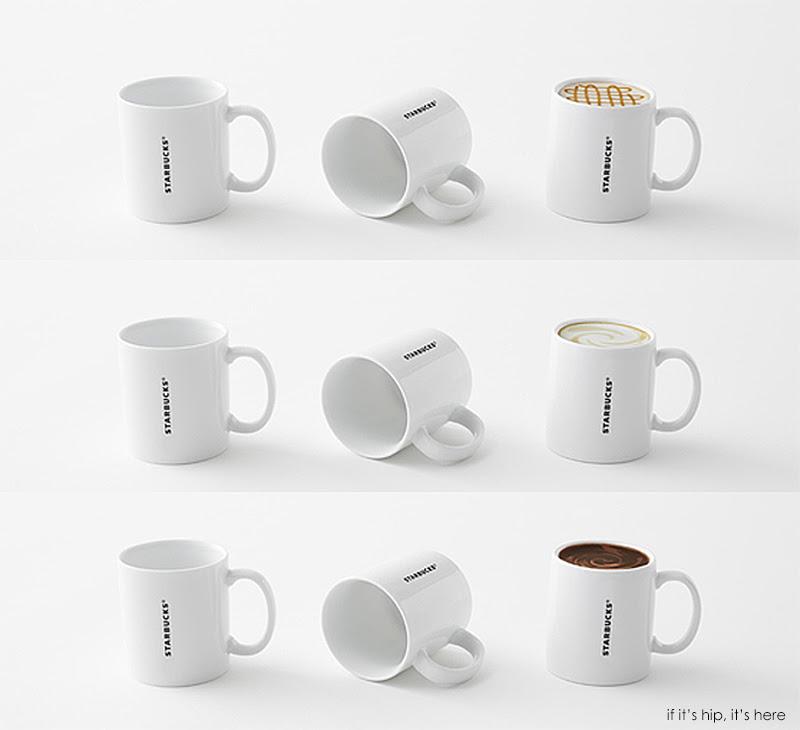 starbucks mugs nendo 5 IIHIH