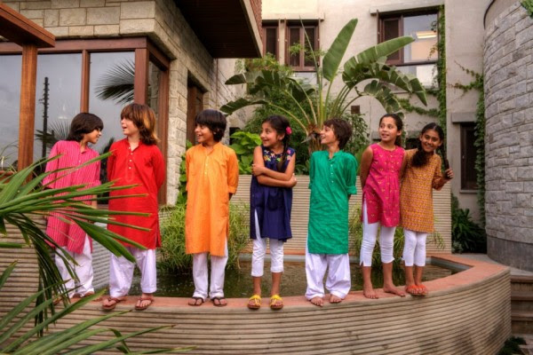 Khaadi-Kids-Childrens-Spring-Summer-Dresses-Collection-2013-For-Casual-Wear-