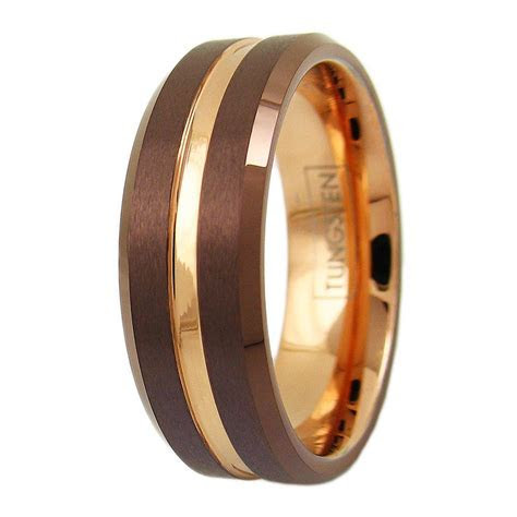 Flat Band Mirror Polished Tungsten Ring. Wholesale