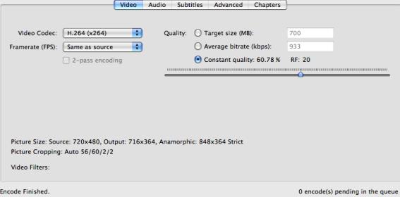 Video Tips for Handbrake on Mac OS X 10 11 El Capitan -PS4/PS3 Tips