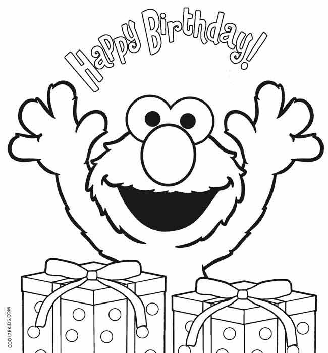 Printable Elmo Coloring Pages For Kids | Cool2bKids