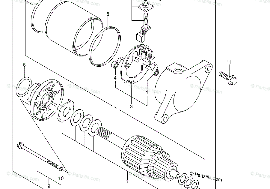 30 Suzuki Eiger Parts Diagram