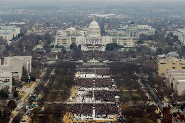 La police américaine ne fournit jamais de chiffre... (Photo Reuters)